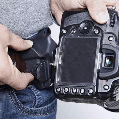Waist Clip For DSLR Cameras