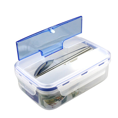 Modern Eco-friendly Outdoor Portable Microwave Lunchbox With Tableware Food Containers