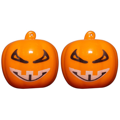 2Pcs LED Pumpkin Nose Light Up Trick or Treat Novelty Halloween Party Favors Toy