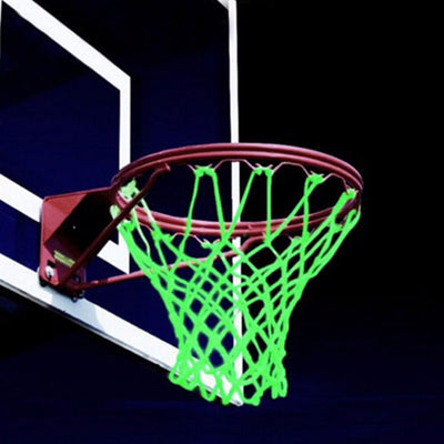 Braided Nylon Glowing Light Luminous Basketball Net