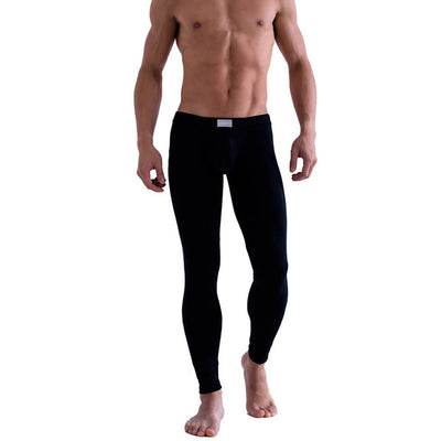 Men's Thermal Underwear Stretchy Base Layer Underwear Pants Legging Pants