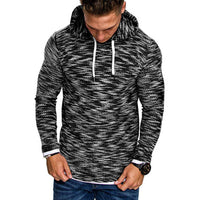 Men's Autumn Long Sleeve Hoodie Hooded Sweatshirt Top Tee Outwear Blouse