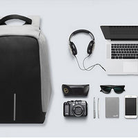 Cool Casual Fashion Anti-theft Laptop Backpack with USB Port