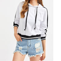 Fall Season Pullover Long Sleeves Sweatshirt Jumper Coat Blouse for Women