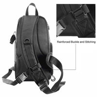 DSLR Camera Sling Bag Digital Case Waterproof w/ Rain Cover