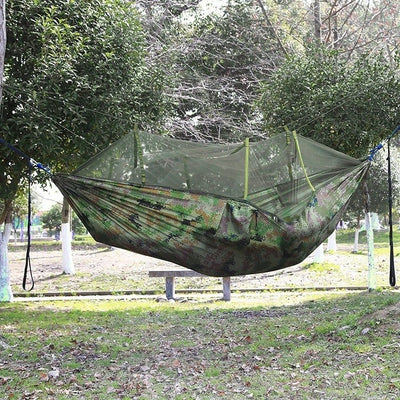 Lightweight Portable Travel Camping Survival Hammock With Mosquito Net