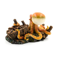 Live Octopus Aquarium and Fish Tank Decorative Ornament Eco-friendly Resin
