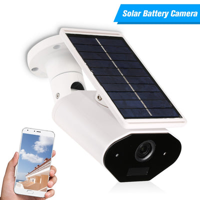 WIFI Wireless Waterproof Outdoor 960P 1.3MP Solar Powered Surveillance Security Camera with Two-way Audio and TF Card Slot