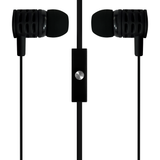 Billboard AUX 3.5mm Stereo Earbuds with Microphone - Black