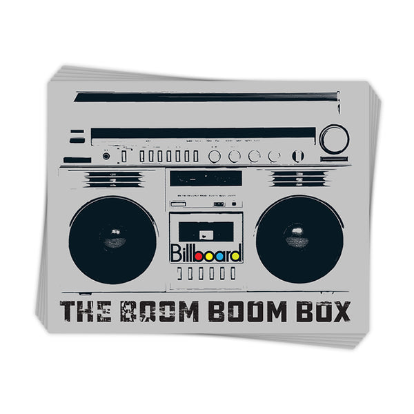 The Boom Boom Box - Sticker