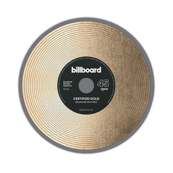 Gold Record - Sticker