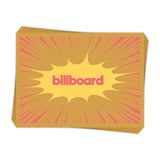 Retro Billboard Burst - Sticker