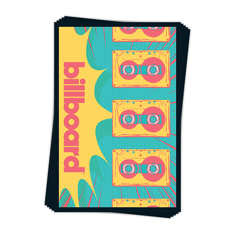 Retro Cassette Tapes - Sticker