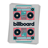 Retro Boomboxes - Sticker