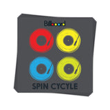 Spin Cycle - Sticker