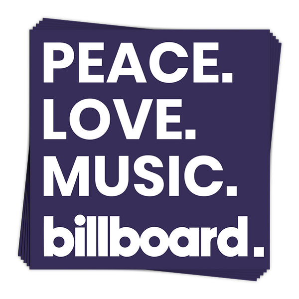 Peace Love - Sticker