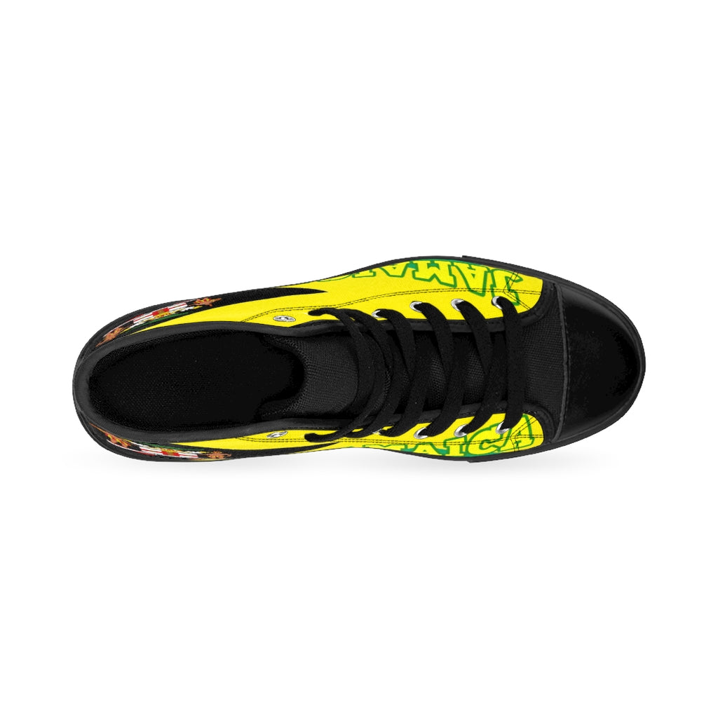 Jamaica Coat Of Arms High-top Sneakers