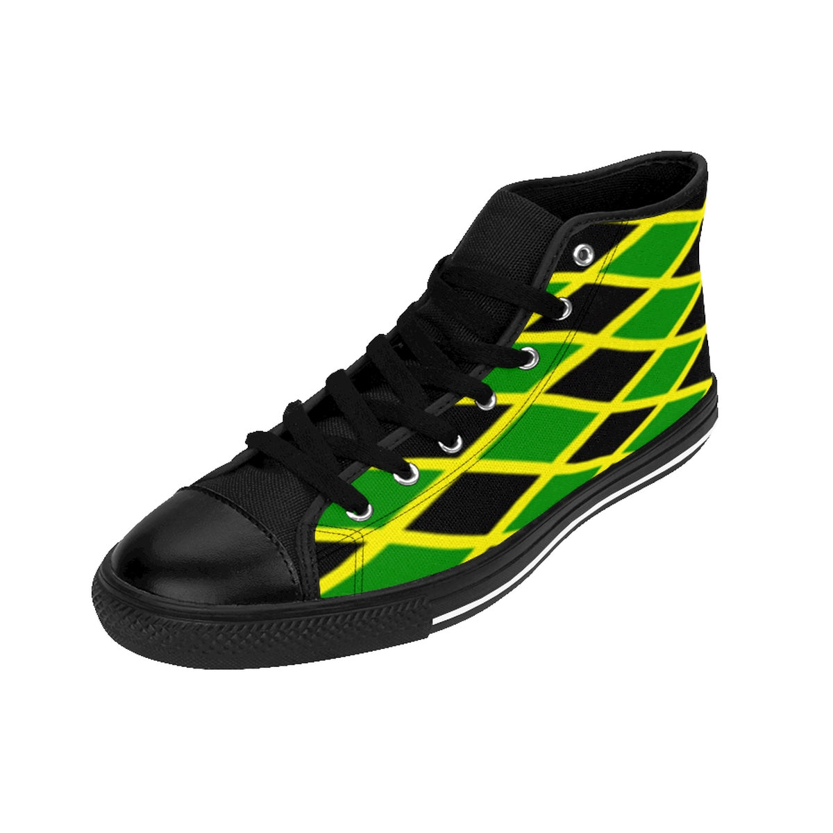 Jamaica Flag Men's High-top Sneakers
