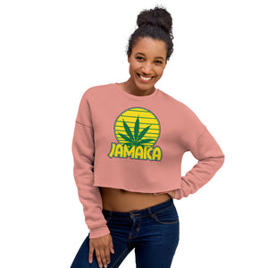 Jamaica Weed Leaf Crop Sweatshirt
