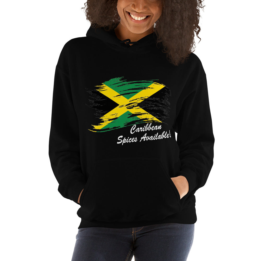 Jamaica Hooded Sweatshirt (Unisex)