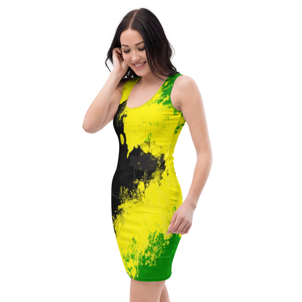 Jamaica Sublimation Cut & Sew Dress