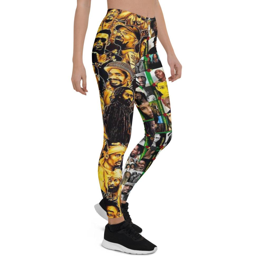 Reggae Dancehall Legends Leggings