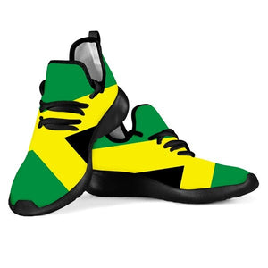 Jamaica Flag Breathable Lightweight Sneakers