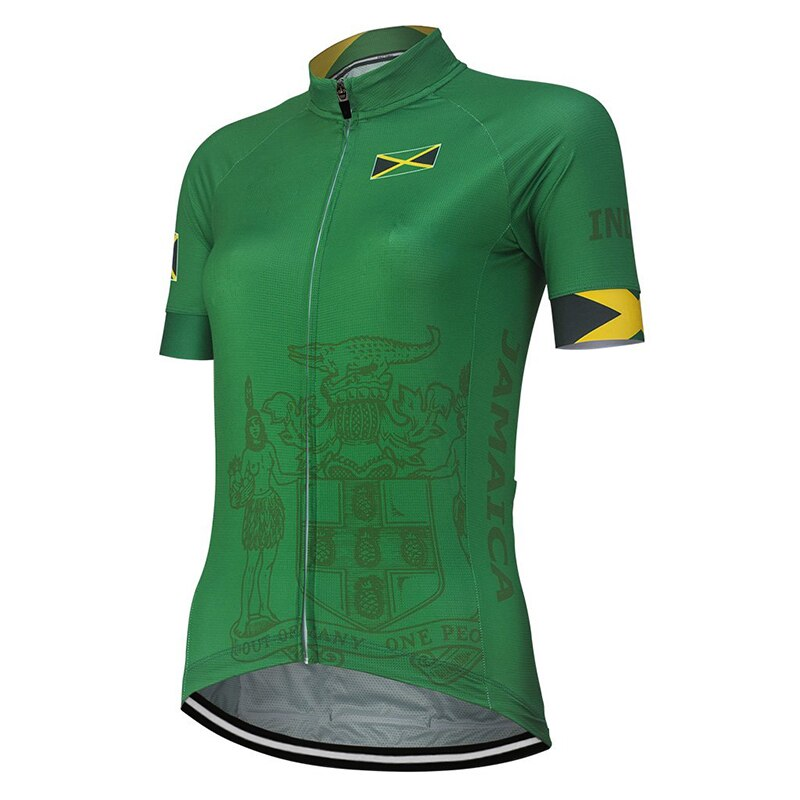 Women's Jamaica Cycling Jersey Shirt