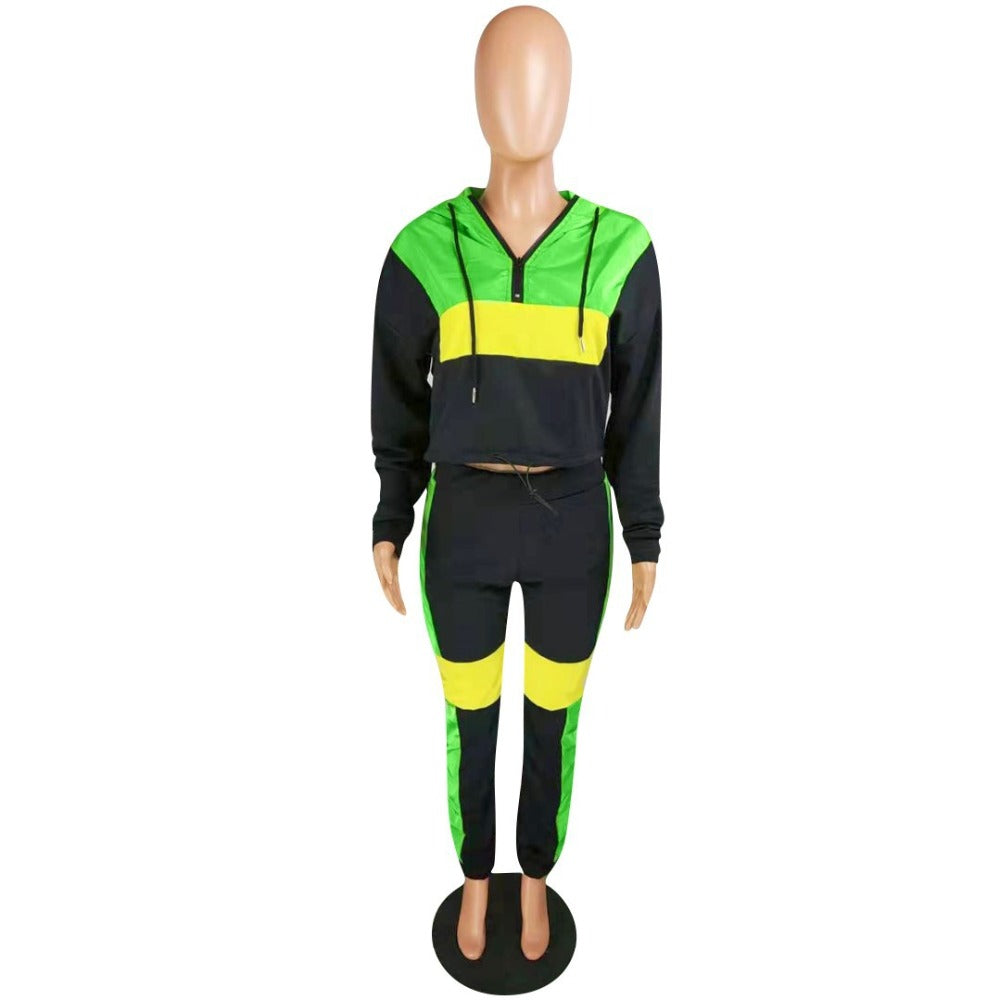 Jamaica color Tracksuit