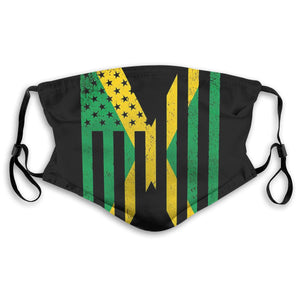Jamaica Flag Mask with Filters