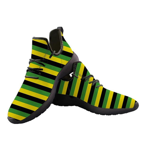 Jamaica Flag 3D Lightweight Sneakers