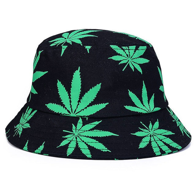 Weed Leaf Unisex Bucket Hat