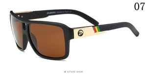 Dragon Polarized Rasta Stripe Sunglasses