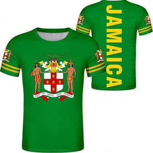 Jamaica Flag Coat Of Arms T-Shirt