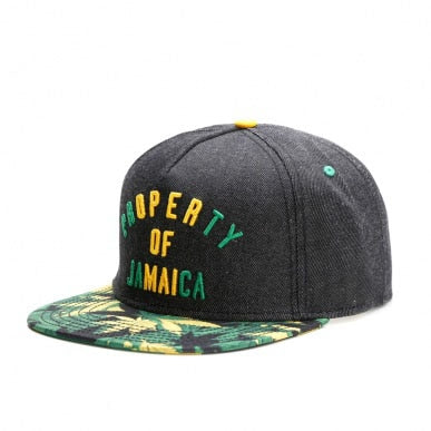 PROPERTY OF JAMAICA CAP SNAPBACK