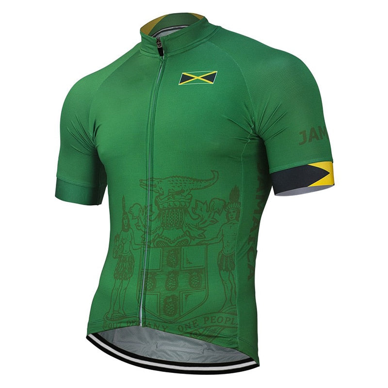 Jamaica Cycling Jersey Shirt