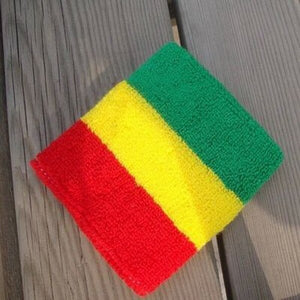 Rasta Jamaica Flag Wrist and Headband