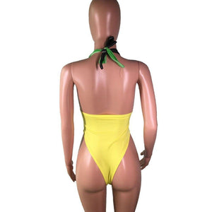 Jamaica Color One Piece Swimsuit