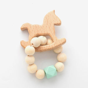 Baby Wooden Toy String Beads