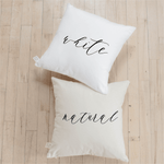 You, Me, Oui Pillow