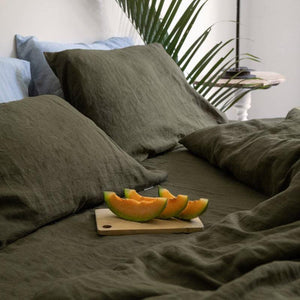 Nordic Style Linen Bedding Set
