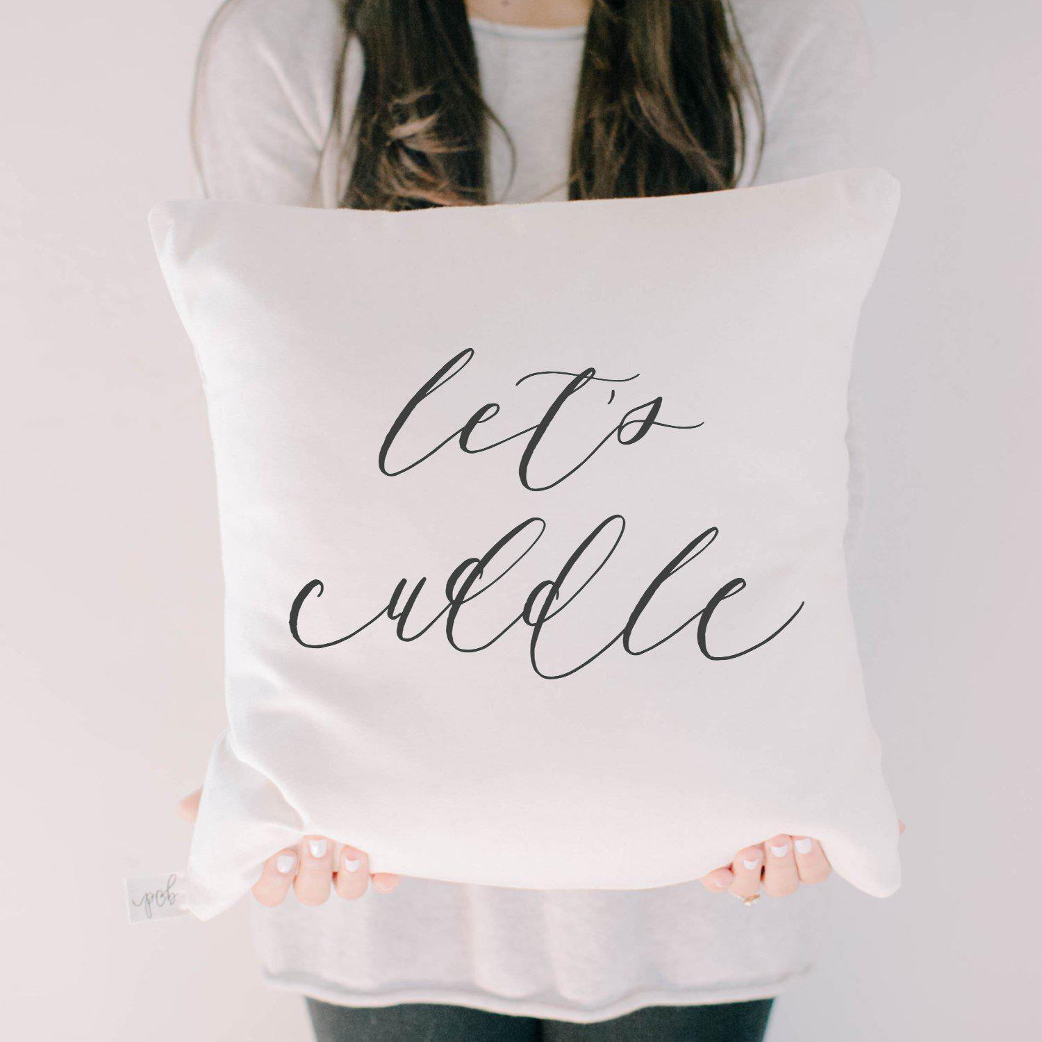 Let's Cuddle Pillow