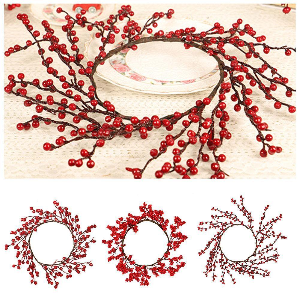 Red Berry Wreath - Hop Decor