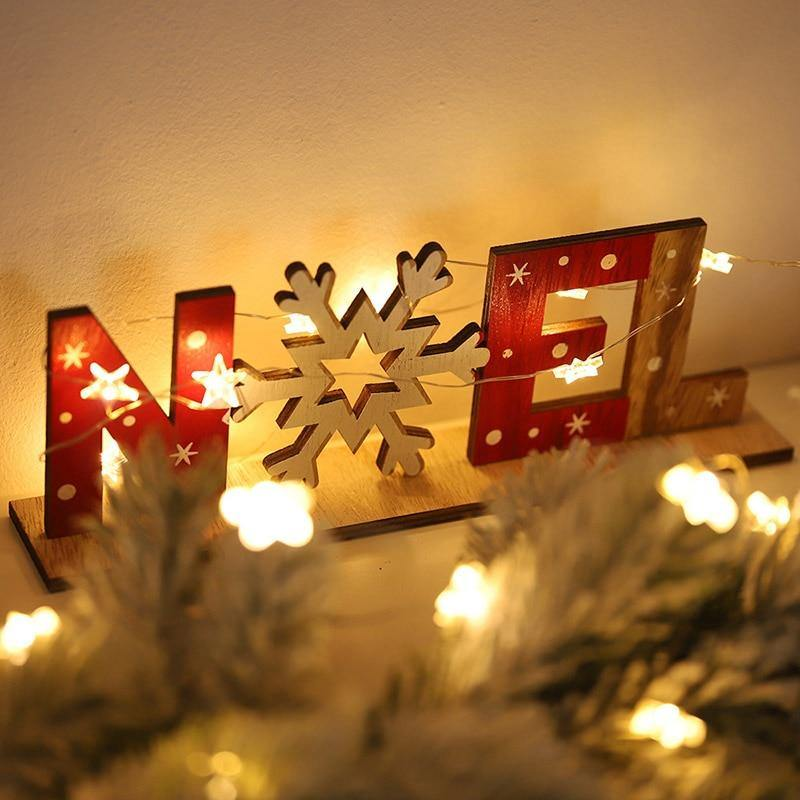 Wood Christmas Decoration