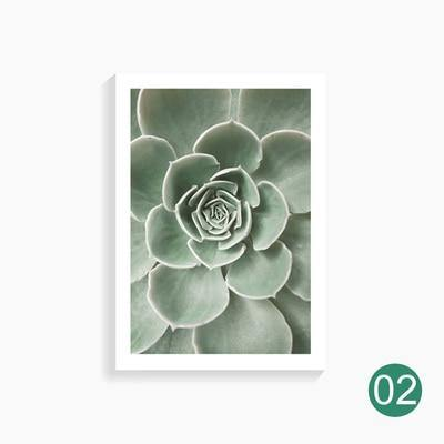 Simple Cacti Canvas Posters - Hop Decor