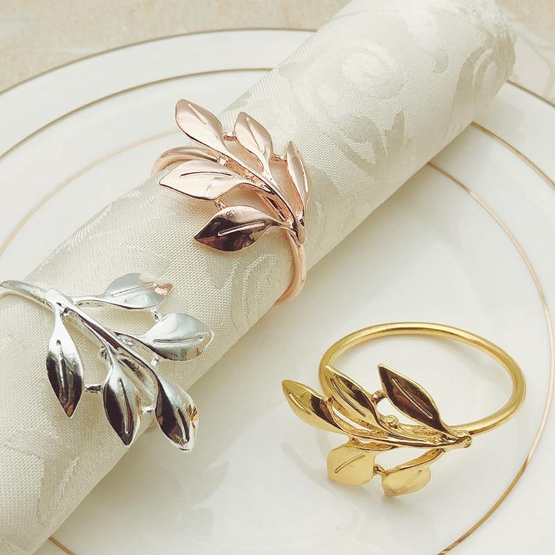 Fall Leaves Napkin Rings - Hop Decor