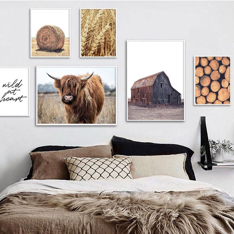 Country Canvas Collage - Hop Decor