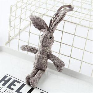 Soft Stuffed Bunny - Hop Decor