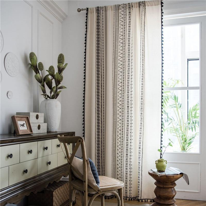 French Country Curtains - Hop Decor