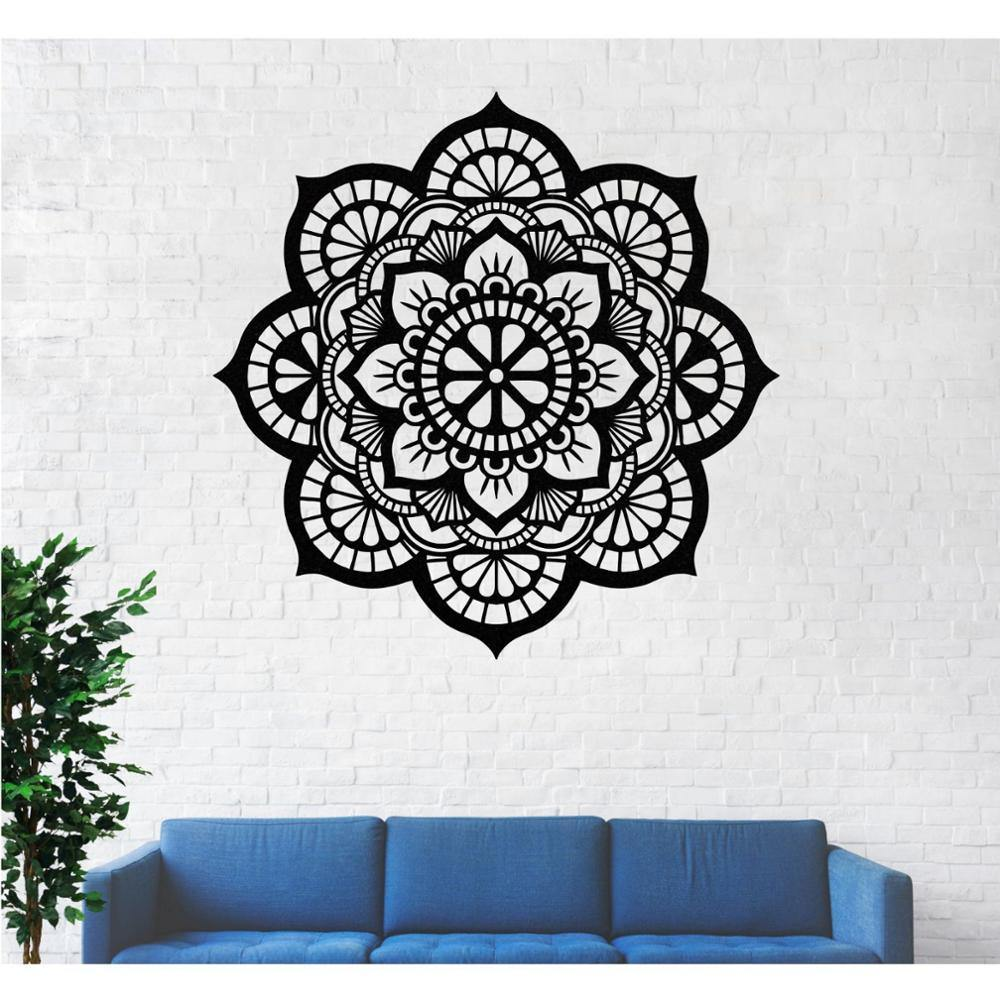 Metal Mandala Wall Art - Hop Decor